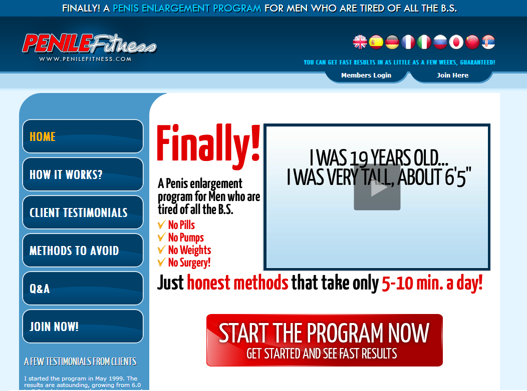 Penile Fitness Review - Before and After Picture Proof ! - Does It Really Work? - Must SEE